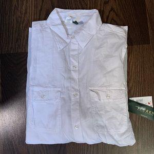 Lauren Ralph Lauren women linen dress